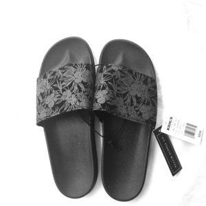 NWT Black Slip On Shoes